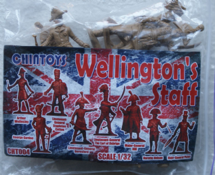 Chin Toys 1/32 CT004 Wellington's Staff (Napoleonic)